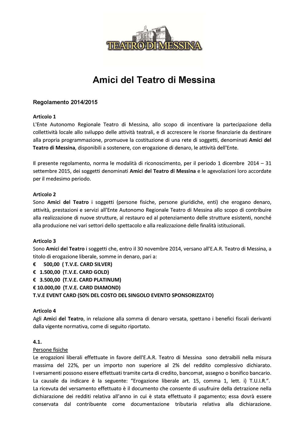 Regolamento Amici del Teatro Messina_Pagina_1