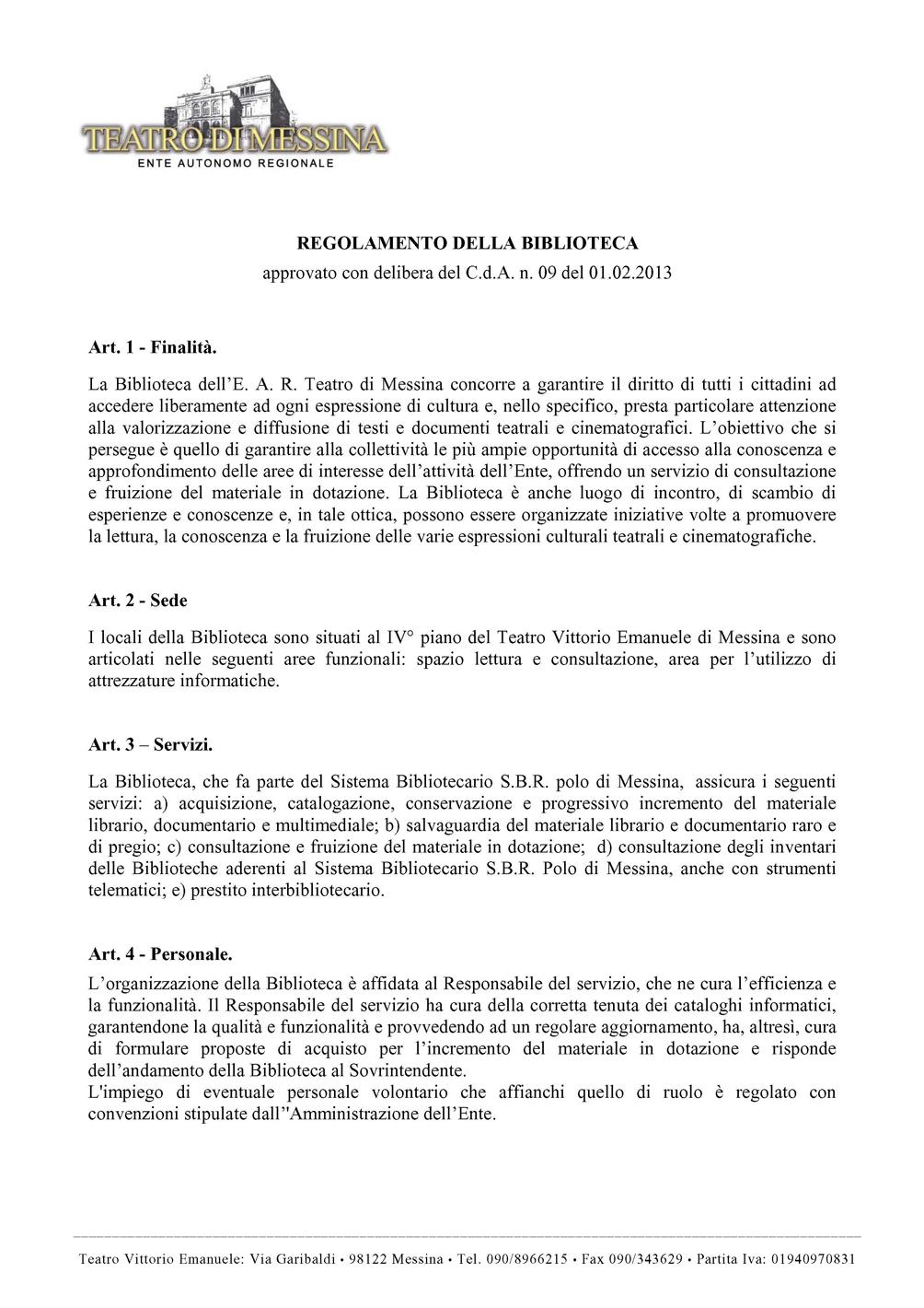 Regolamento Biblioteca1