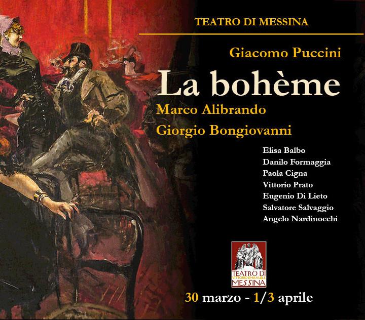 Bohéme - Teatro Vittorio Emanuele
