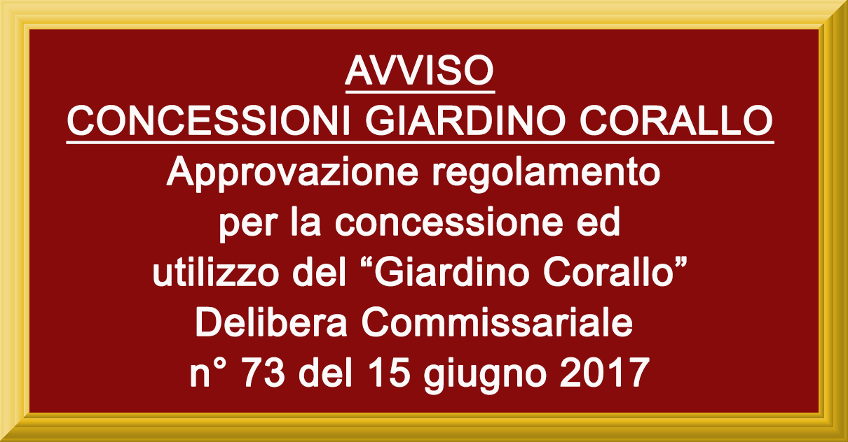 GIARDINO CORALLO