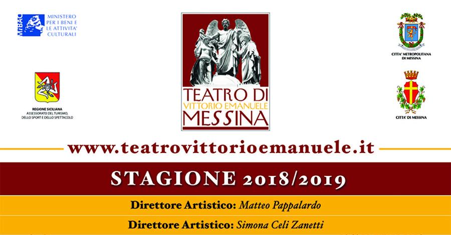 Programma Stagione Teatrale 2018/2019