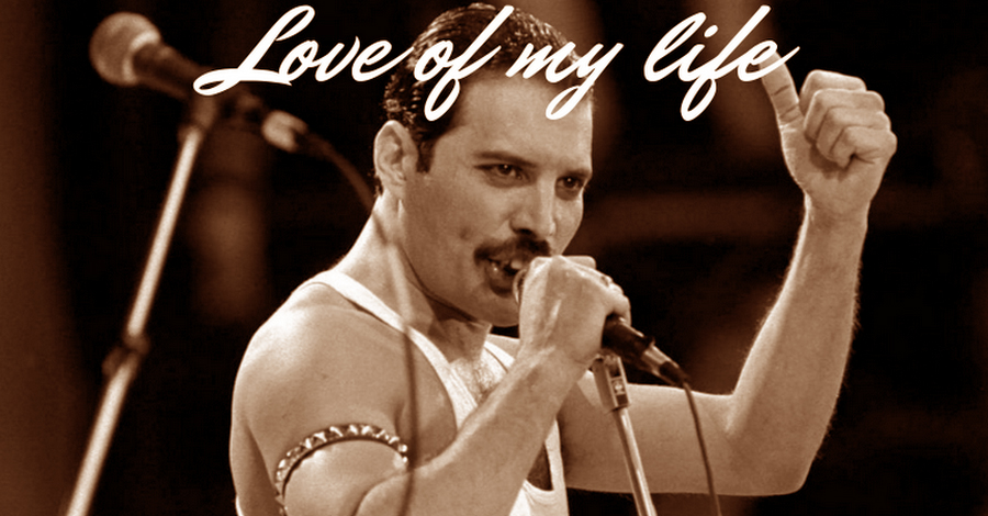 Love of my life-Omaggio a Freddie Mercury