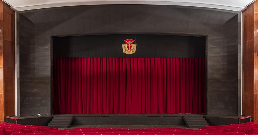 Teatro Vittorio Emanuele Palcoscenico