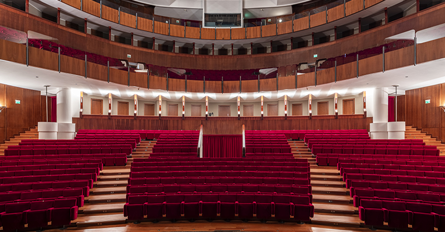 Teatro Vittorio Emanuele Interno