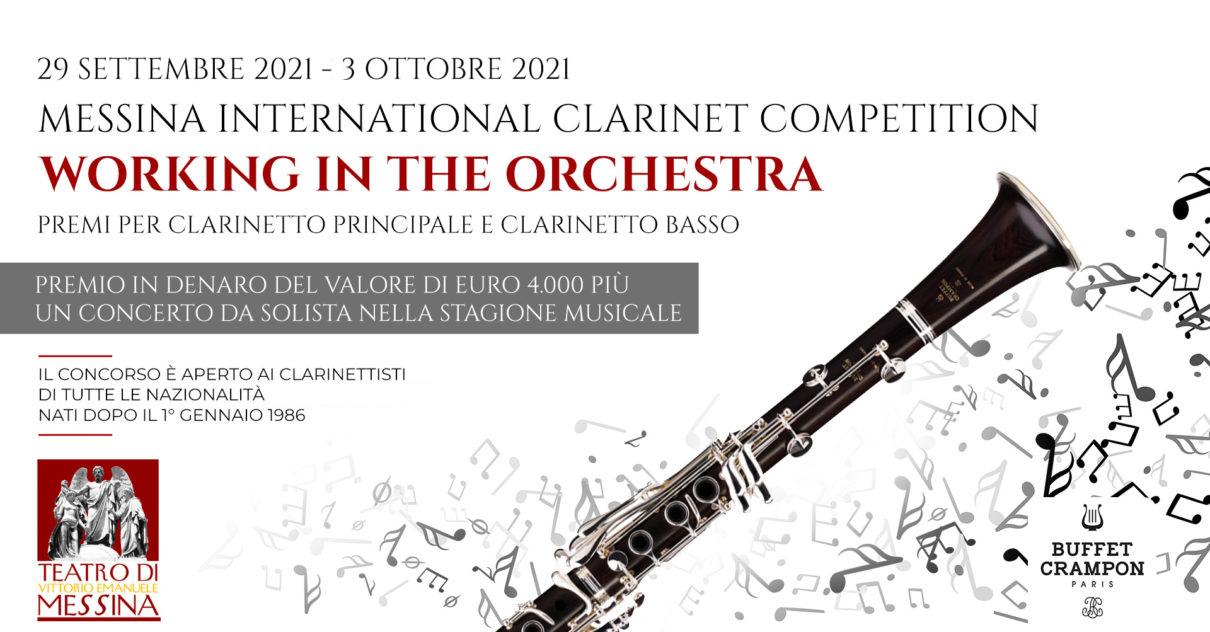 Messina International clarinet competition